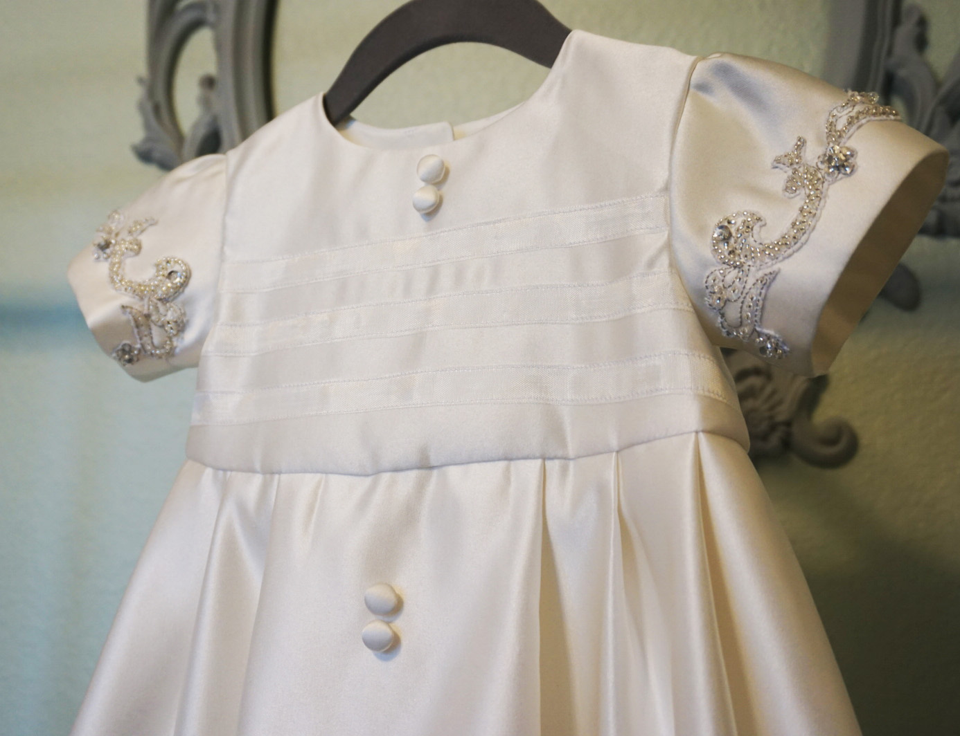 Aux Belles Choses: Wedding Dress to Baptismal Gown