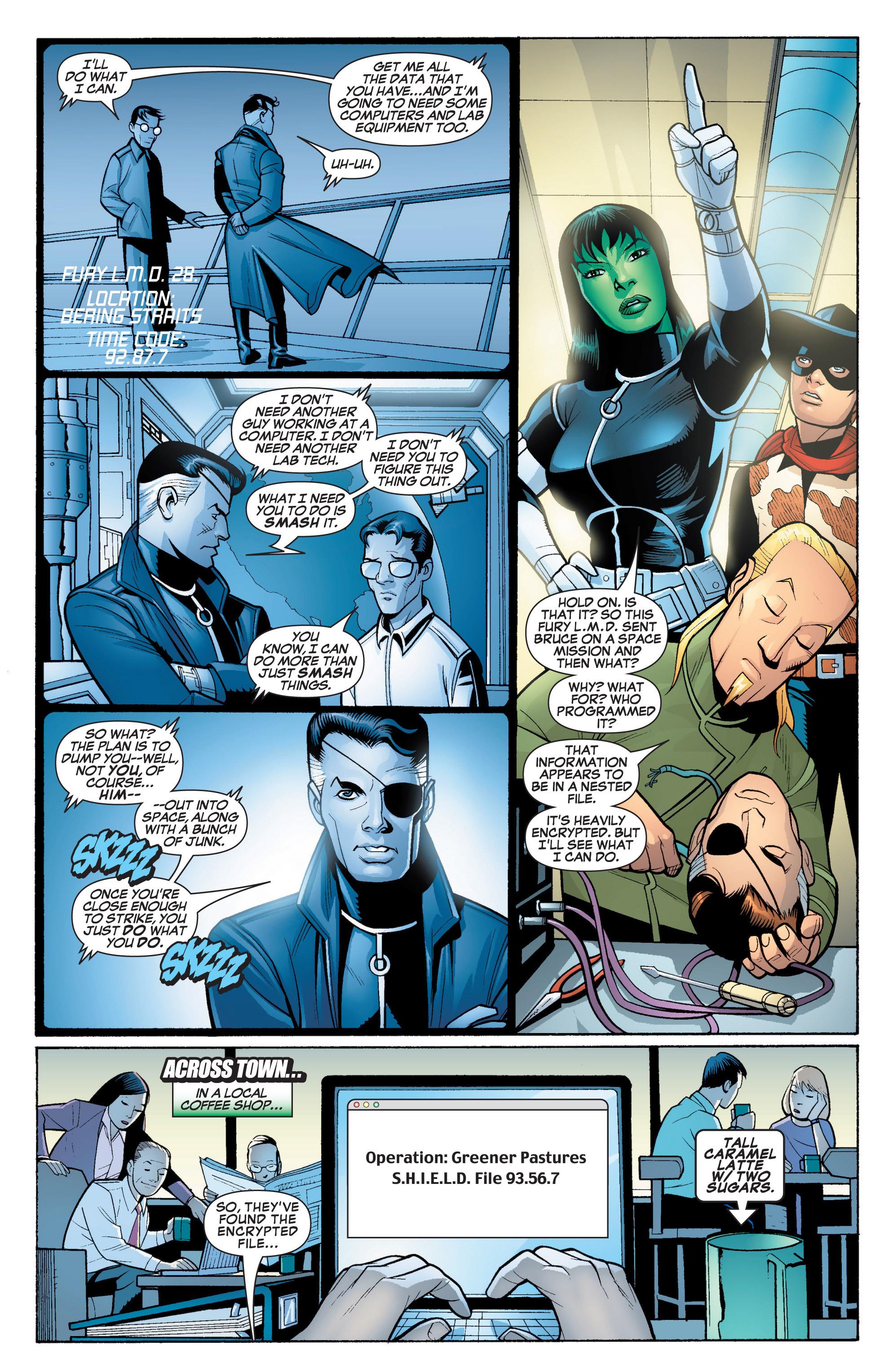 Read online She-Hulk (2005) comic -  Issue #18 - 8