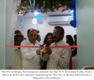 7th Clinic of Hairline International opens in Bengaluru at Koramangala