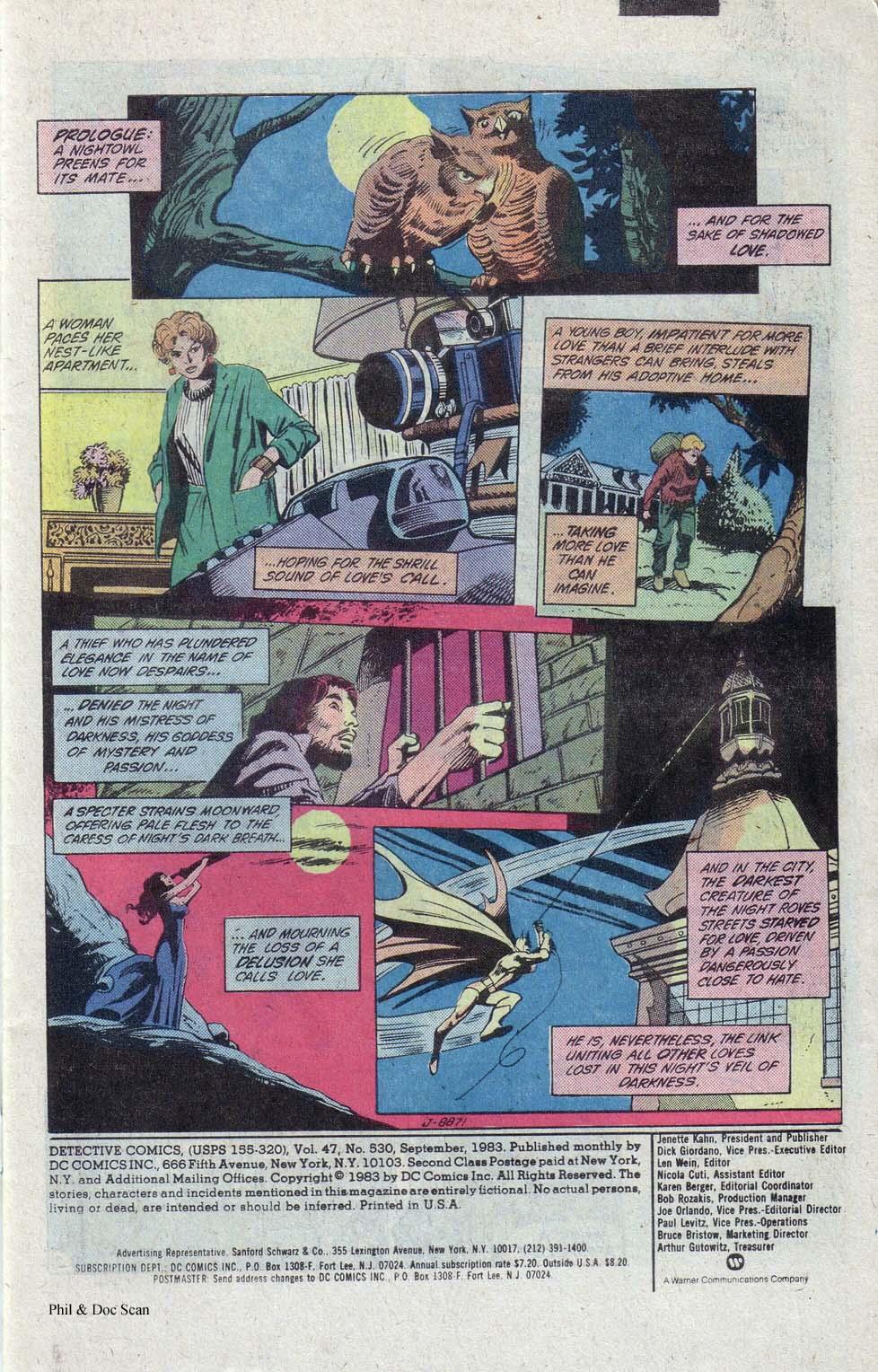 Detective Comics (1937) 530 Page 1