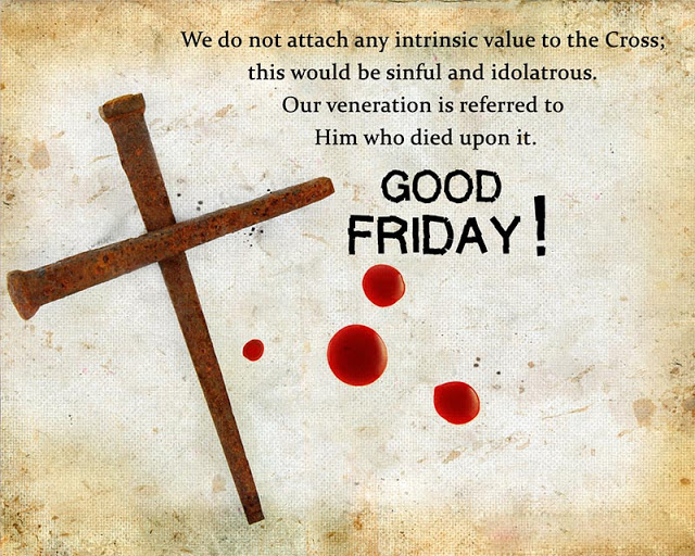 Good Friday Wallpaper with Quotes for Facebook