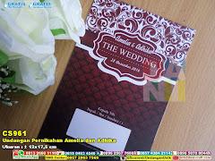 Undangan Pernikahan Amelia Dan Adhika