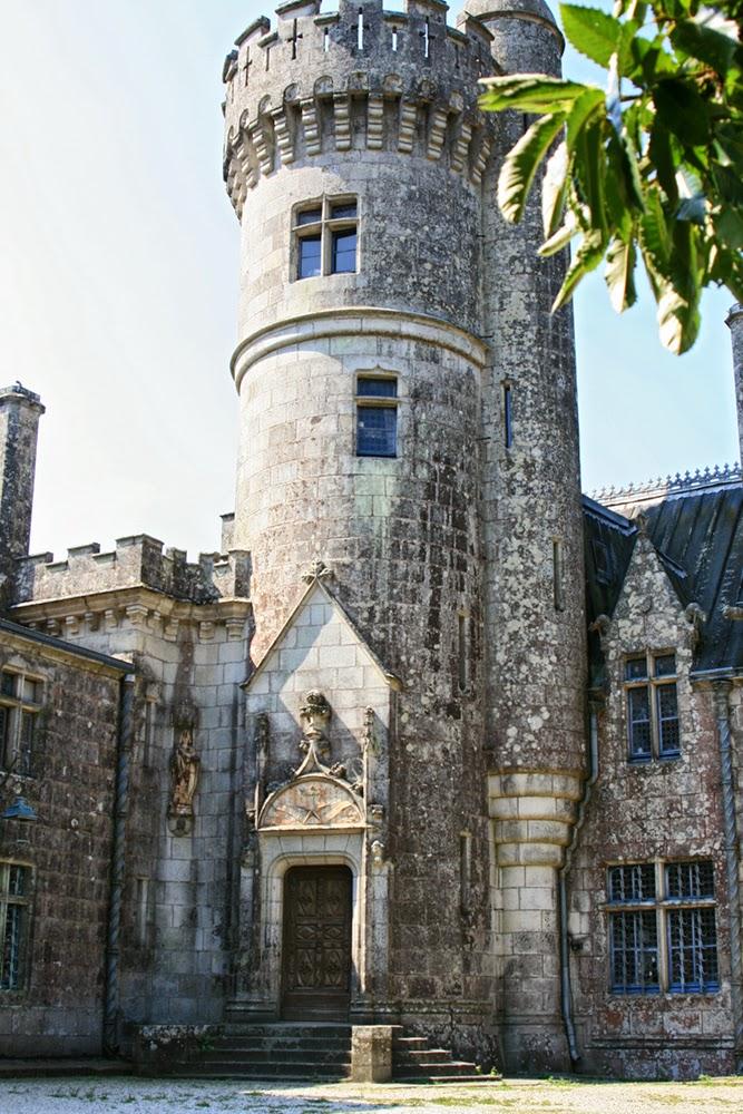 Concarneau, Keriole Castle. Франция, Конкарно, замок Кериоле