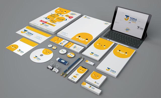 Corporate Branding - Kids Shop Complete Branding