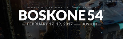 E.J. Stevens Guest at Boskone 54 Fantasy Science Fiction Convention Boston