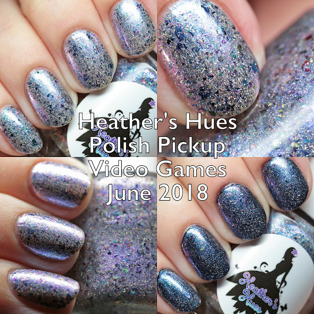 Heather's Hues Polish Pickup Video Games June 2018