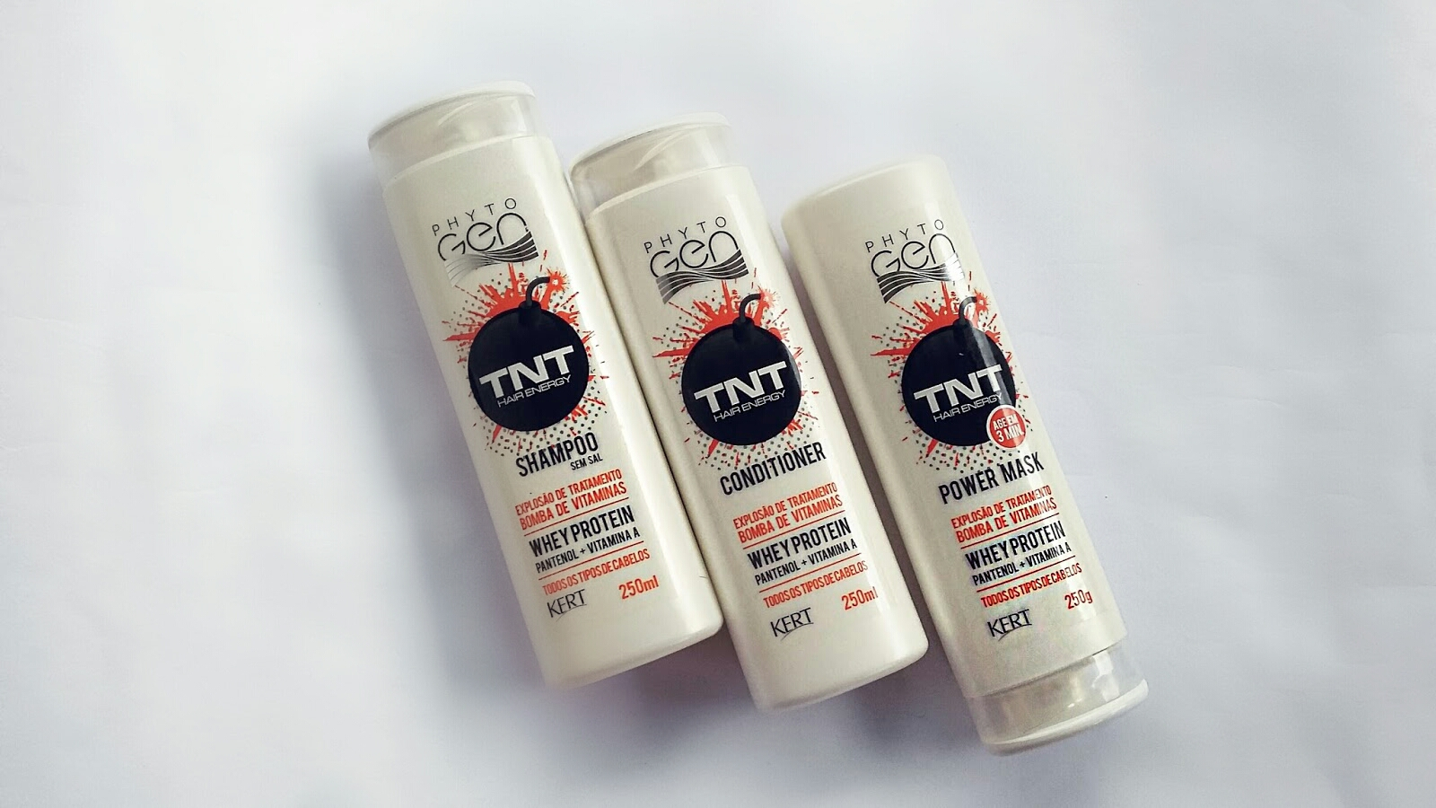 Resenha: Linha TNT Hair Energy- Phytogen