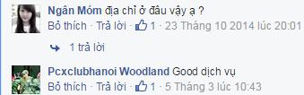 Ý kiến phản hồi từ  Pcxclubhanoi Woodland về chuyển phát nhanh Max sài gòn