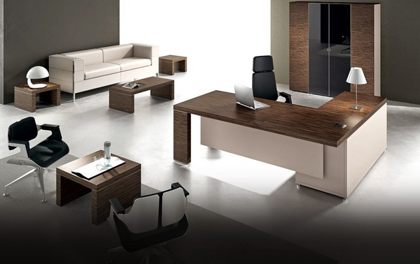 Contemporary Executive OFFICE FURNITURE Desks and Chairs Design