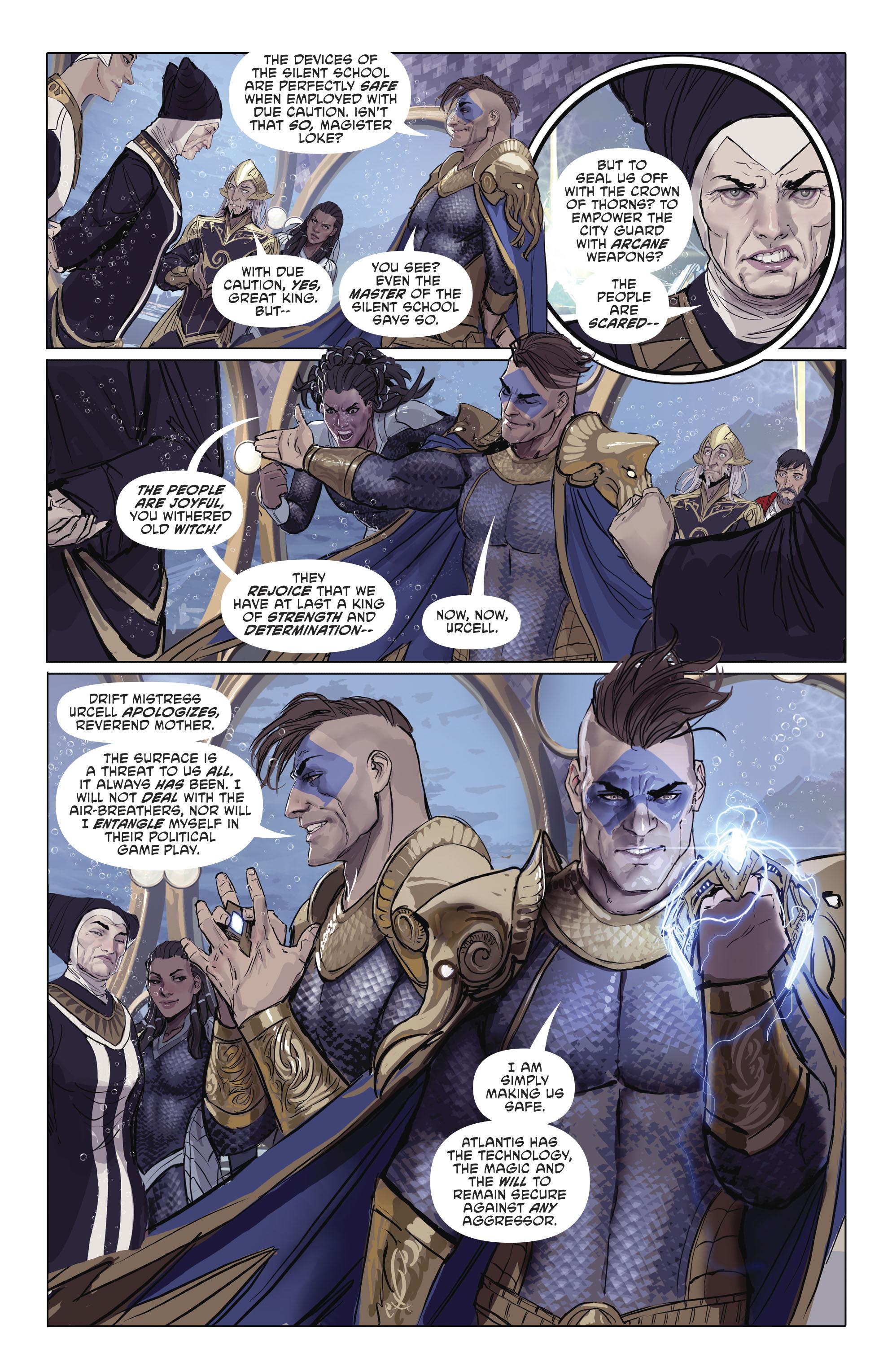 Read online Aquaman (2016) comic -  Issue #25 - 17