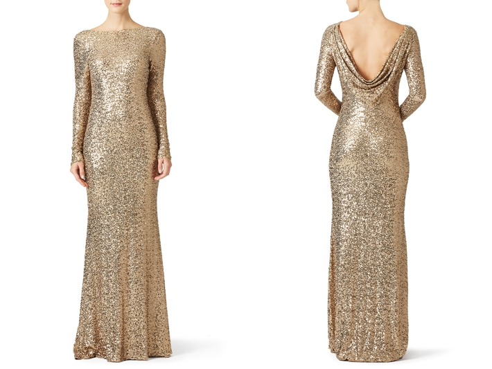 10 Best Gold Bridesmaids Dresses from Rent The Runway | Southern ...