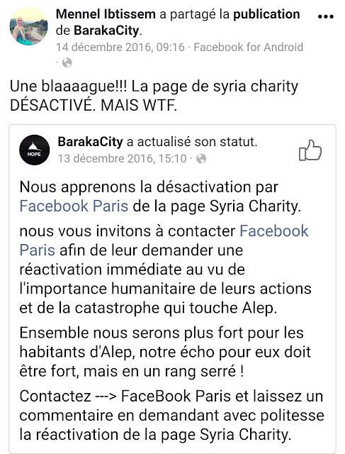 Mennel Ibtissem préfère soutenir une ONG islamiste pour son action humanitaire envers la Syrie