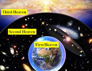 the 3rd heaven where Satan dwells