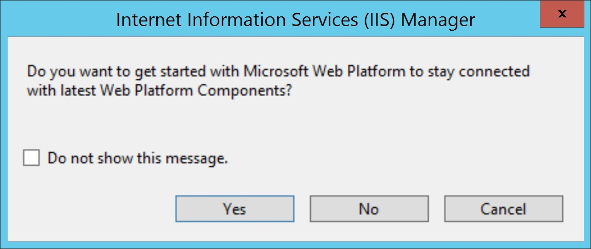 Kressmark Unified Communications: Windows 2012 R2 IIS 8 5