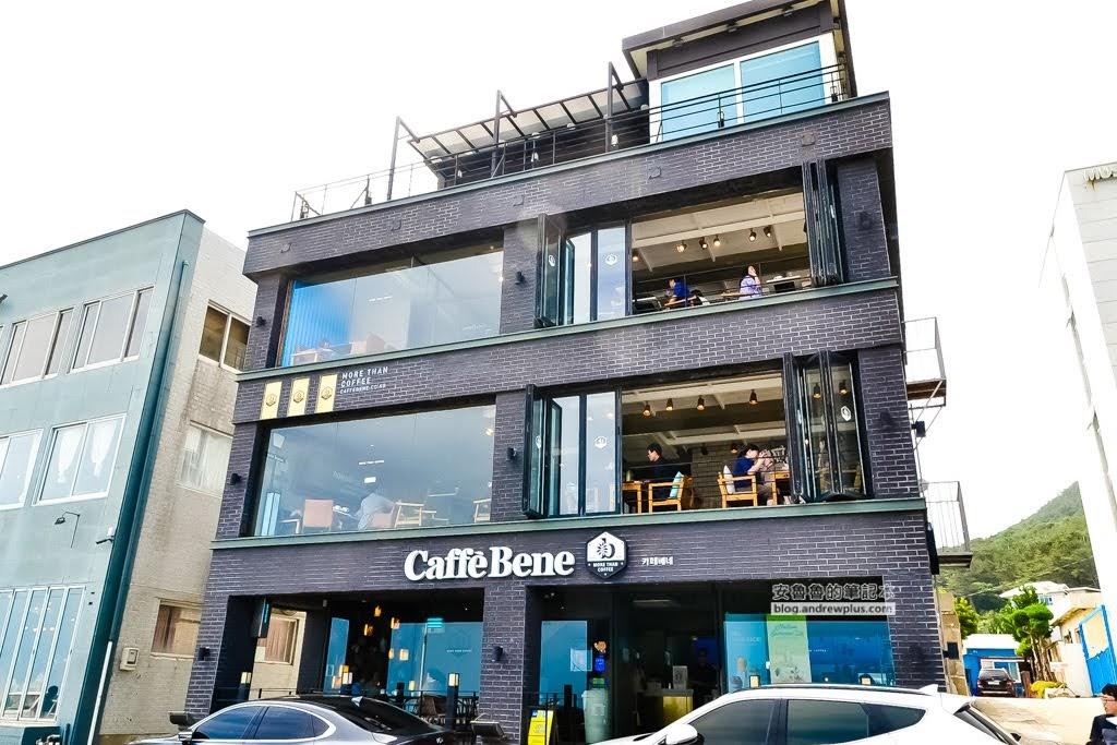 海雲台青沙浦咖啡,青沙浦喝咖啡,CAFFEE BENE,CAFE ROOF TOP