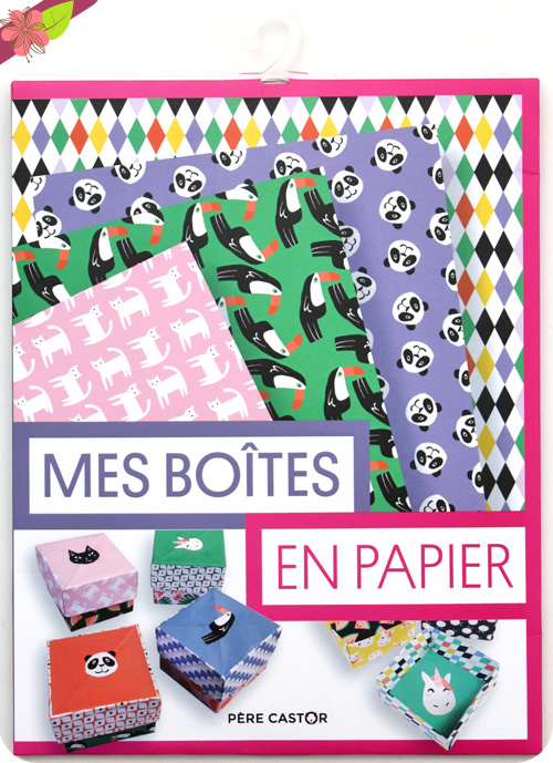 Mes boîtes en papier - Les pochettes du Père Castor - Flammarion Jeunesse