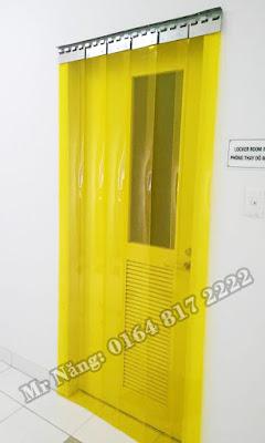 Rèm có màu vàng đặc trưng