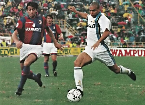 Ronaldo in Bologna-Inter del 1997