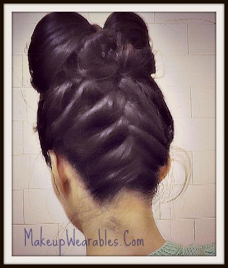 Pleasant Cute Hair Bow Hairstyles With Upside Down Braid Hair Tutorial Video Short Hairstyles Gunalazisus