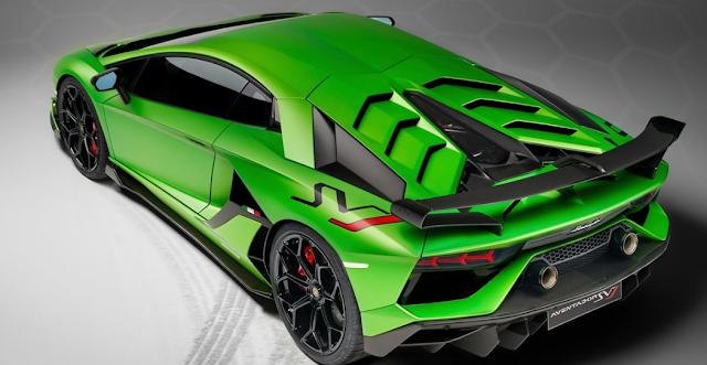 Review Lamborghini Aventador SVJ