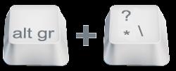 Ters Slash \ Nasıl Yapılır? Mac & PC Klavye Kısayolu