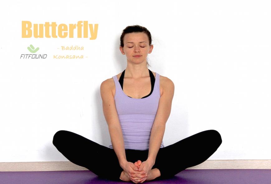 cách tập tư thế yoga con bướm