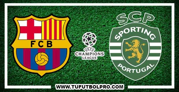 Ver Barcelona vs Sporting Lisboa EN VIVO Por Internet Hoy 5 de Diciembre 2017