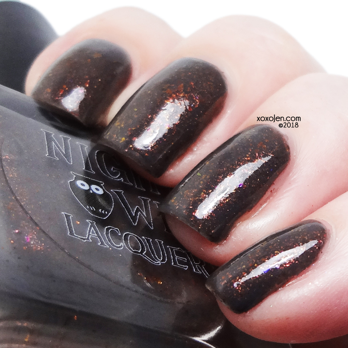 xoxoJen's swatch of Night Owl Lacquer Windswept