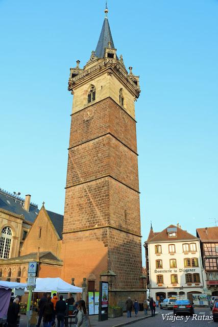 Beffroi de Obernai, Alsacia