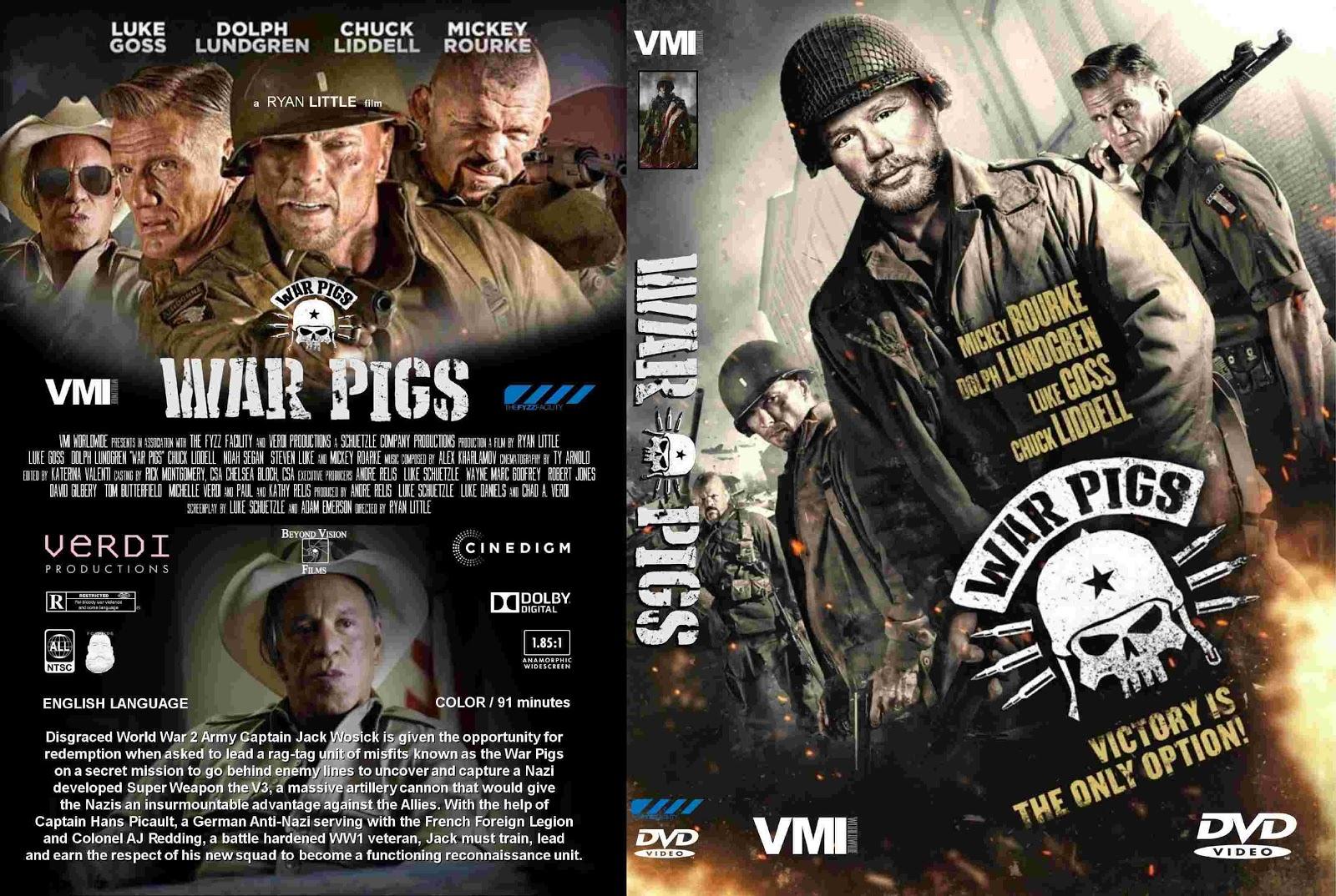 Filme Marcas Da Guerra regarding marcas da guerra - war pigs (2016) capa dvd - giga in filmes