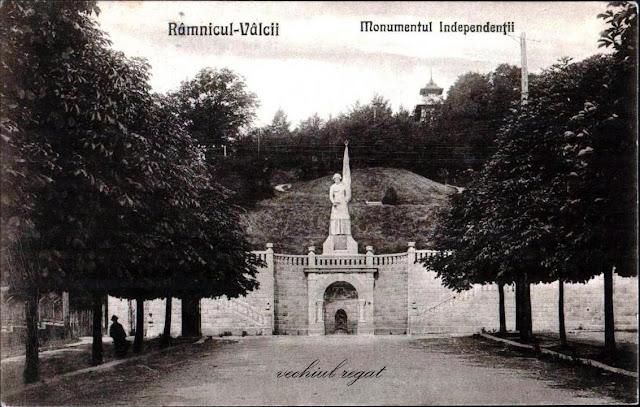 Monumentul Independentei si Foisorul de pe Dealul Capela