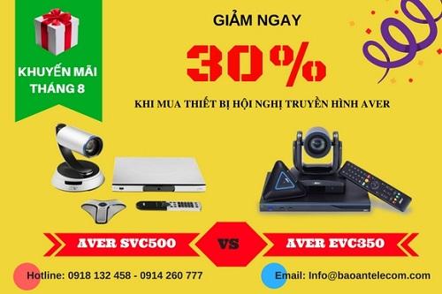 Khuyến mãi giảm giá thiết bị hội nghị truyền hình