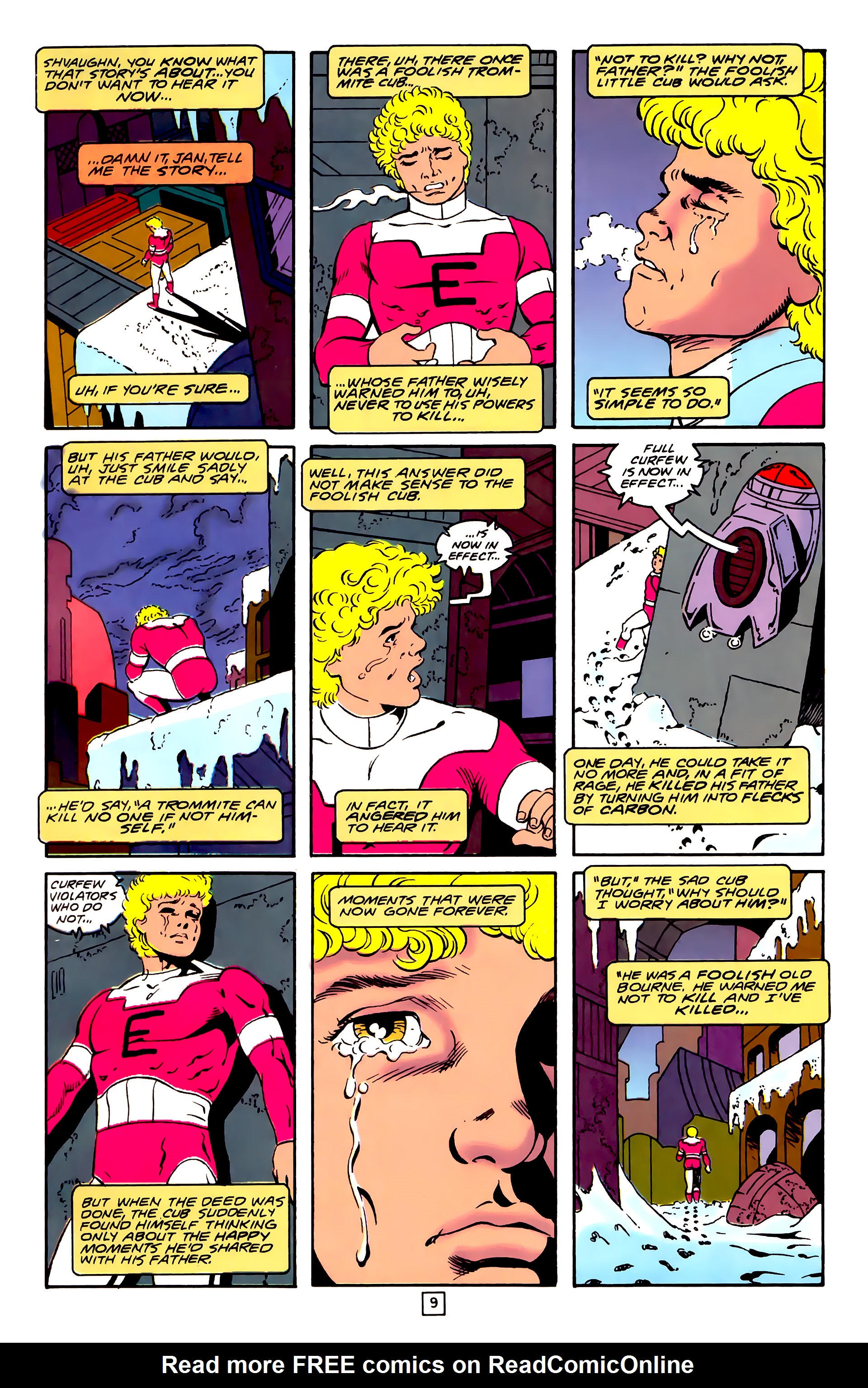 Legion of Super-Heroes (1989) 31 Page 9