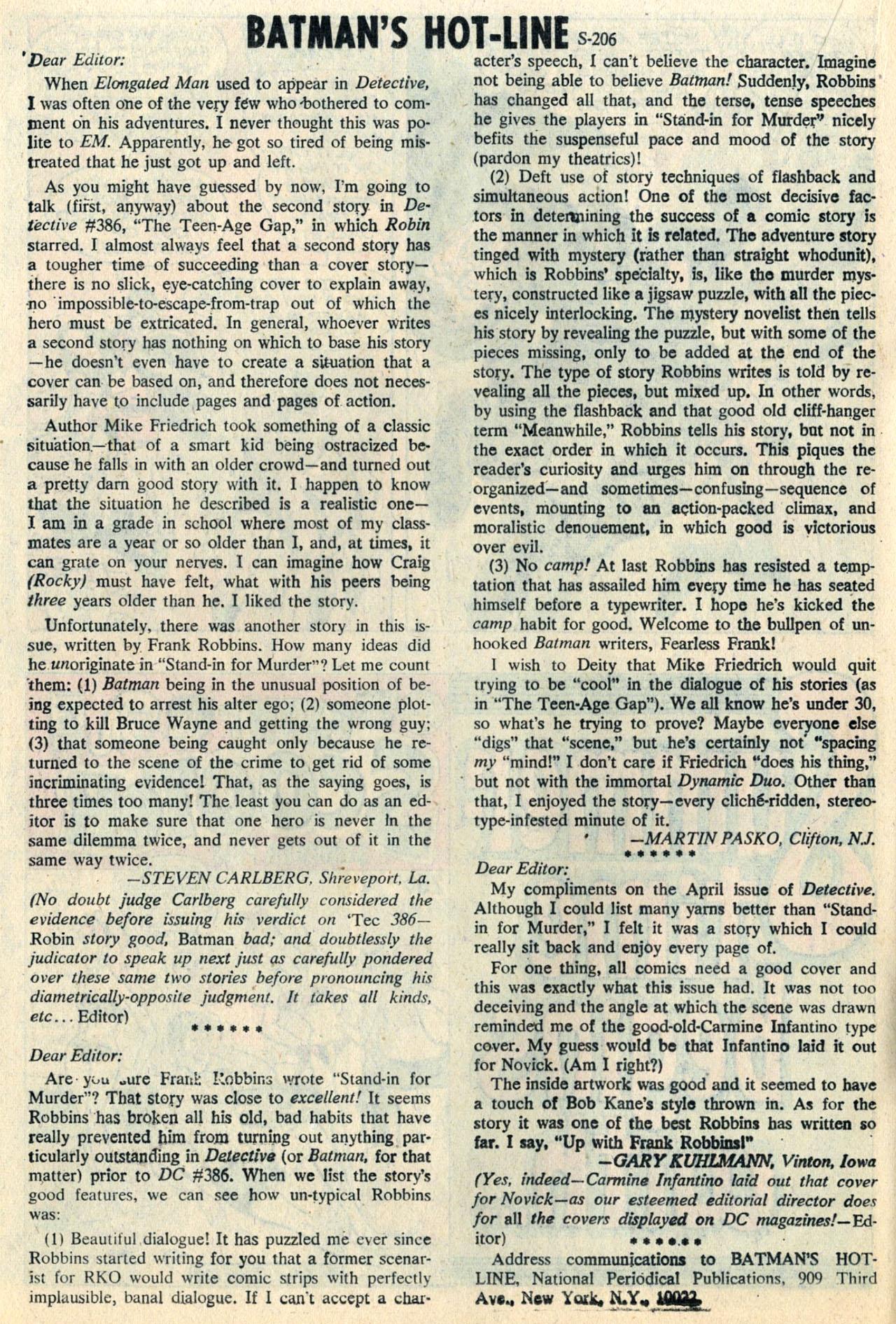 Detective Comics (1937) 390 Page 19