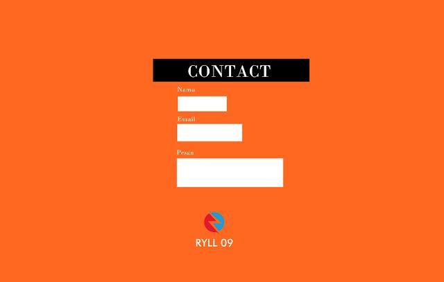 Cara Memasang Widget Contact Form pada Halaman Statis Blogger