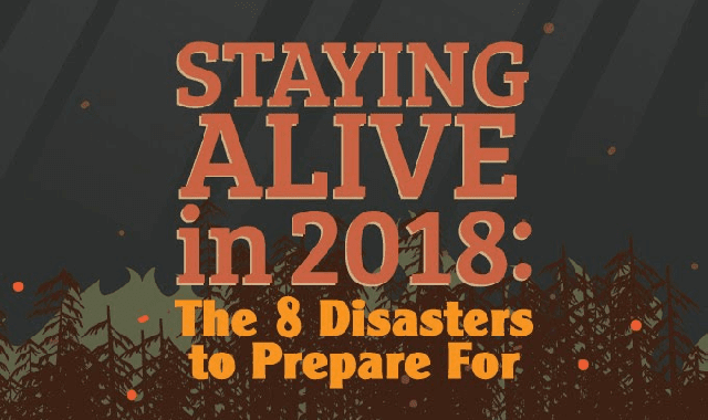 Staying Alive In 2018: The 8 Disasters To Prepare For
