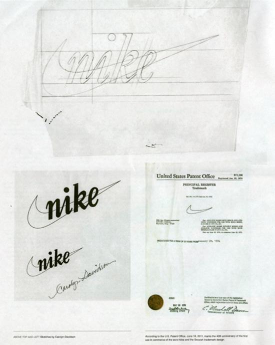 Nike logo 1971