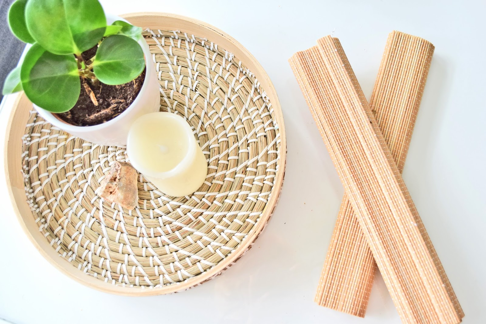 Bamboo decor accessories