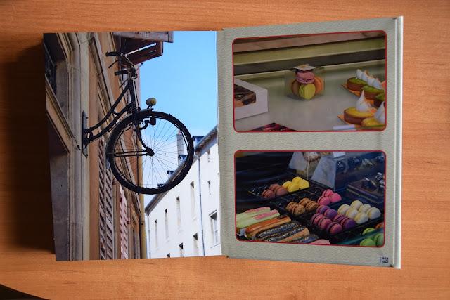 Recenzje #18 - Fotoksiążka firmy Saal Digital - Nancy oraz makaroniki - Francuski przy kawie