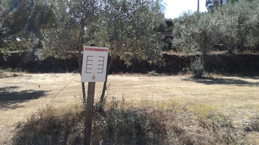 Ordenamento Parque estacionamento Praia de Lavacolhos