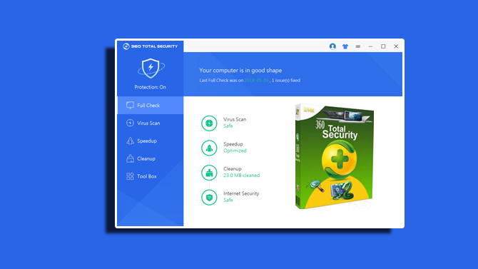 Download Gratis 360 Total Security versi Terbaru