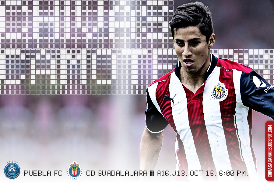 Liga MX : Puebla FC vs CD Guadalajara - Apertura 2016 - Jornada 13.