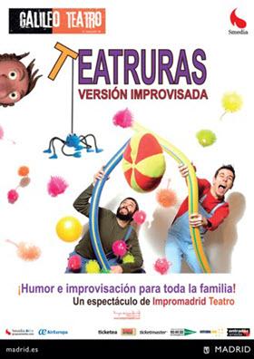 Teatruras, humor para toda la familia, en el Teatro Galileo