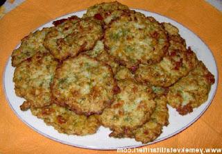 Zucchini-Potato Fritters (Kabak-Patates Mucveri)