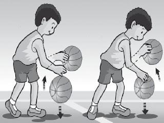Menggiring Bola ( Dribbling )