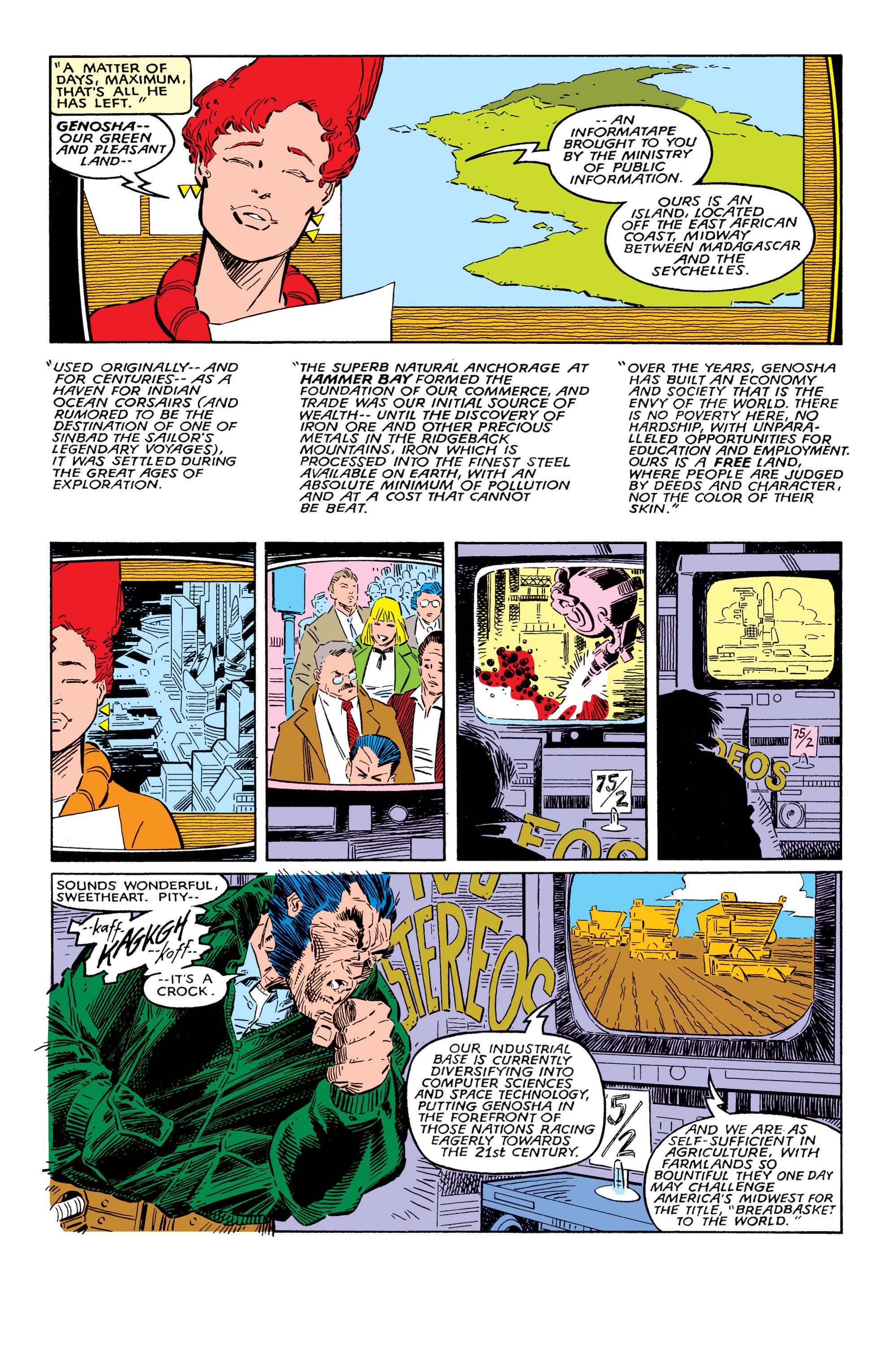 Read online Uncanny X-Men (1963) comic -  Issue #237 - 6