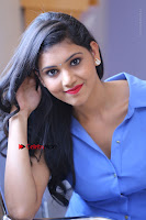 Telugu Actress Mounika UHD Stills in Blue Short Dress at Tik Tak Telugu Movie Audio Launch .COM 0174.JPG