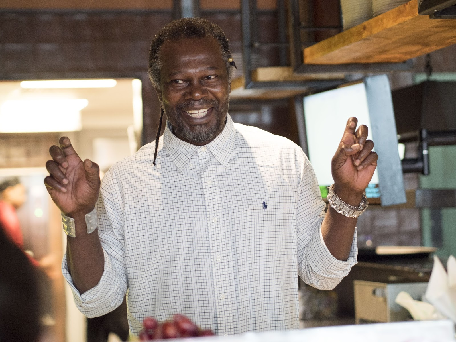 Levi Roots Caribbean Smokehouse Cookery Masterclass