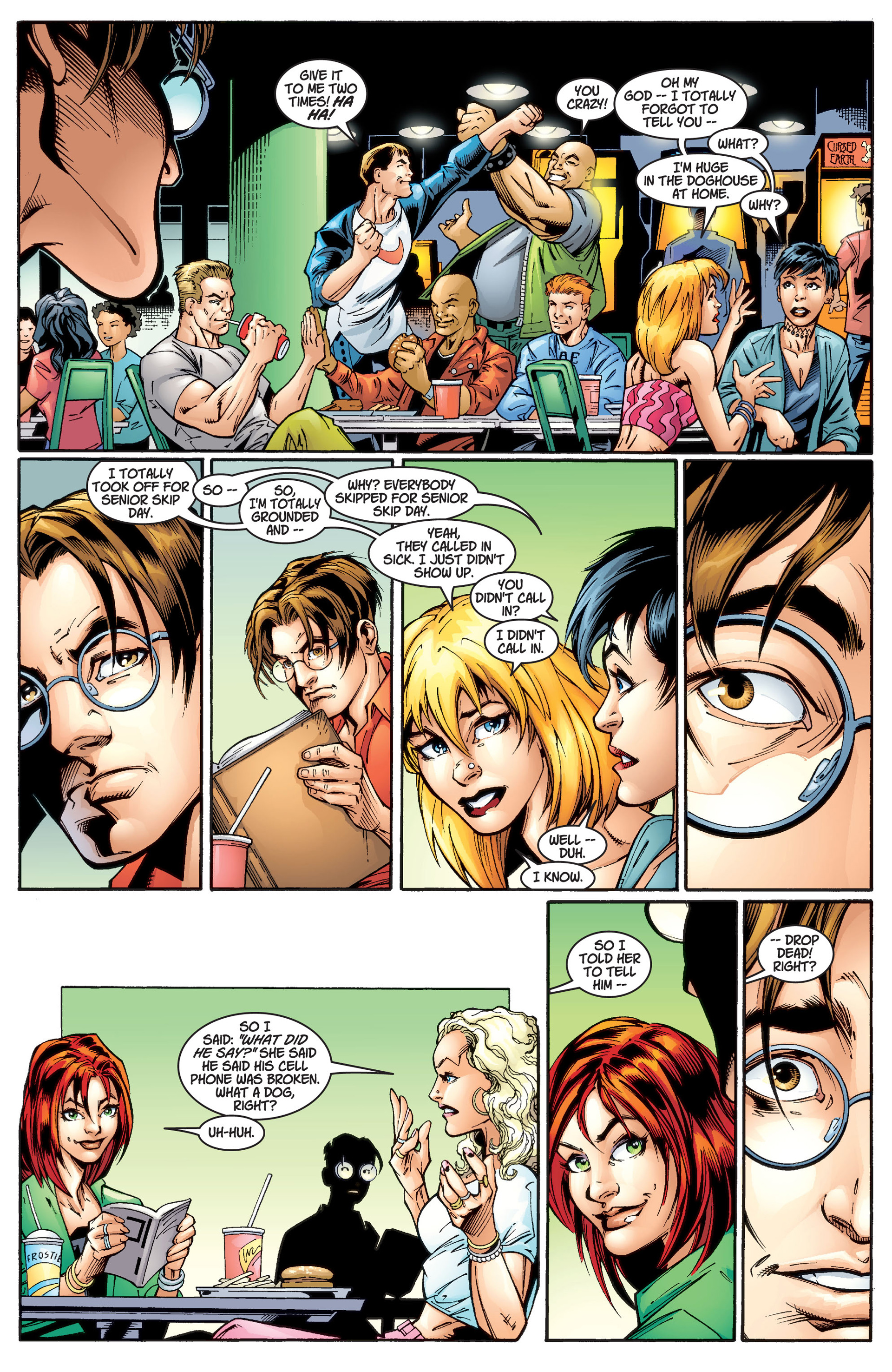 Read online Ultimate Spider-Man (2000) comic -  Issue #1 - 7