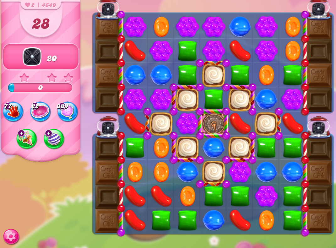 Candy Crush Saga level 4649
